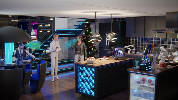 Future Christmas Kitchen