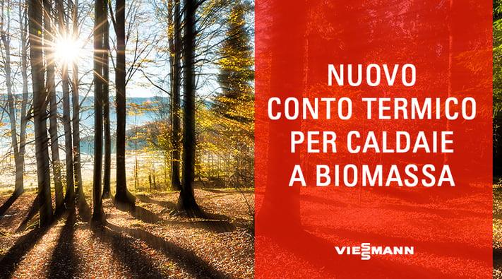 Nuovo Conto Termico per Caldaie a Biomassa