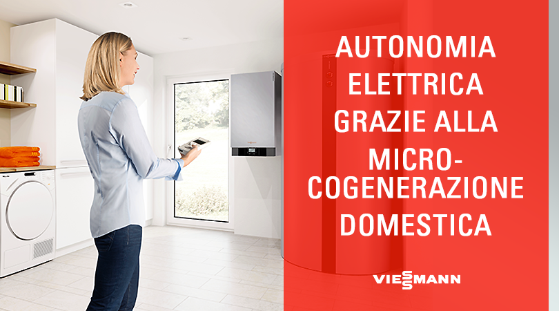 Autonomia Elettrica grazie alla Microcogenerazione Domestica