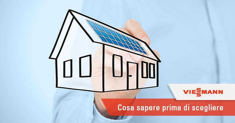 Come scegliere un impianto solare termico