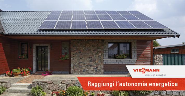 Fotovoltaico con Accumulo per Essere Indipendenti