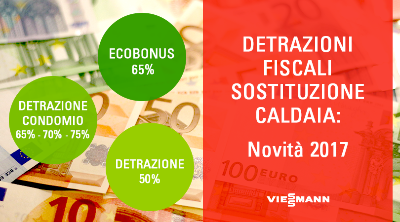 Detrazioni Fiscali Sostituzione Caldaia: Novità 2017
