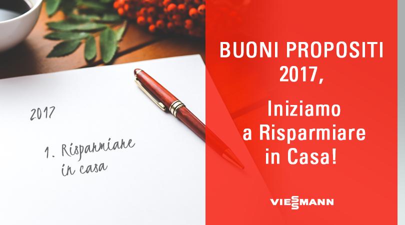 Buoni Propositi 2017, Iniziamo a Risparmiare in Casa!